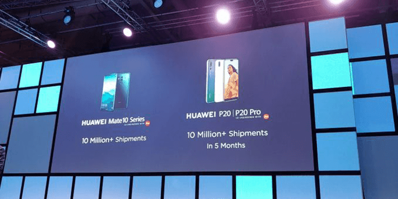 IFA 2018: Huawei sold 20 million units of Mate 10 and P20 series worldwide!