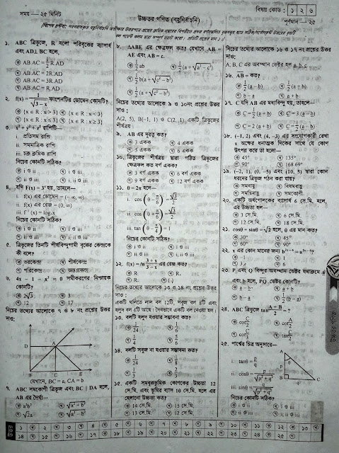 SSC Higher Math Suggestion - 03