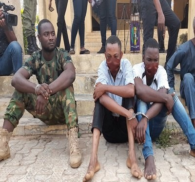 Newly recruited Police constable nabbed for armed robbery