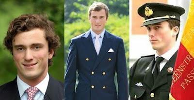 Pangeran Amedeo, Belgia