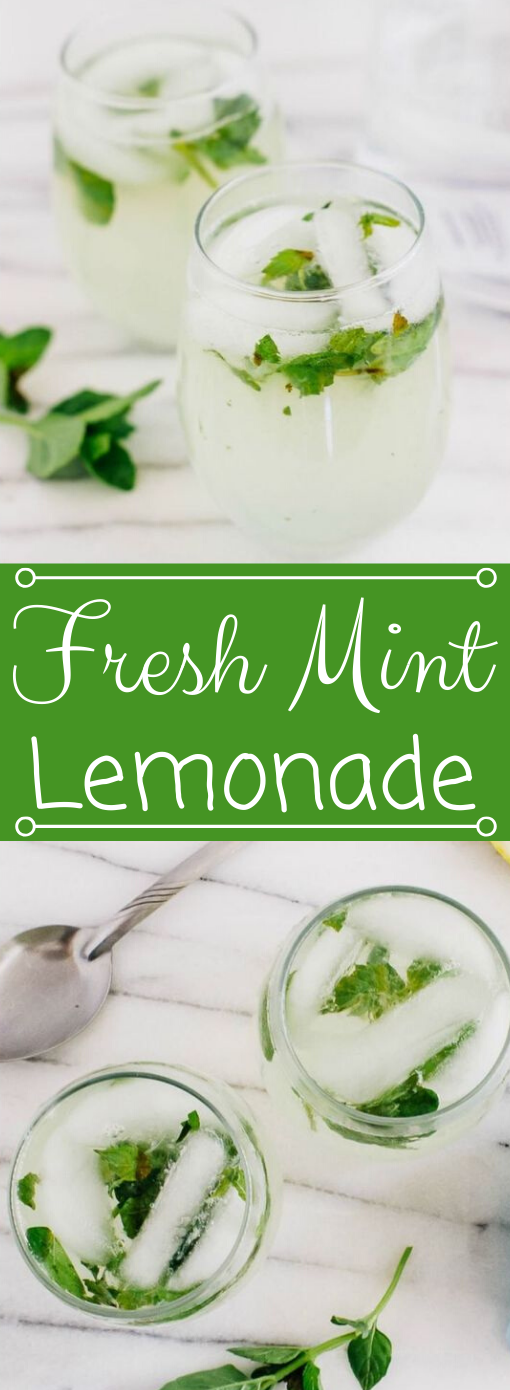 Fresh Mint Lemonade Recipe #drink #hot #lemonade #fresh #recipes