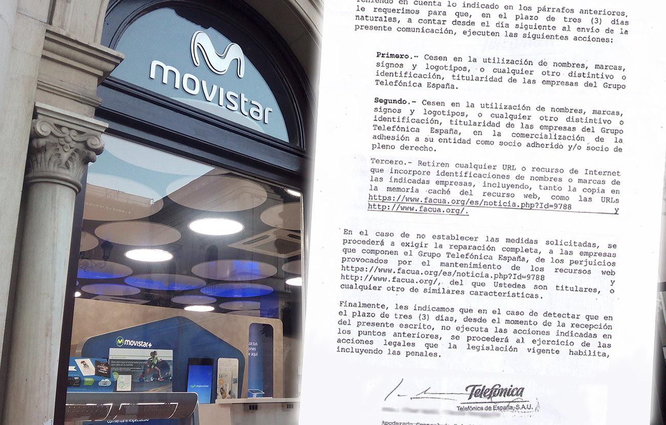 Facua Movistar subida de precios