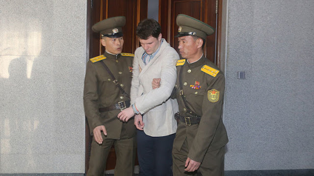 """Corea del Norte acusa al """"viejo lunático"""" Trump de explotar la muerte del estudiante Warmbier"""