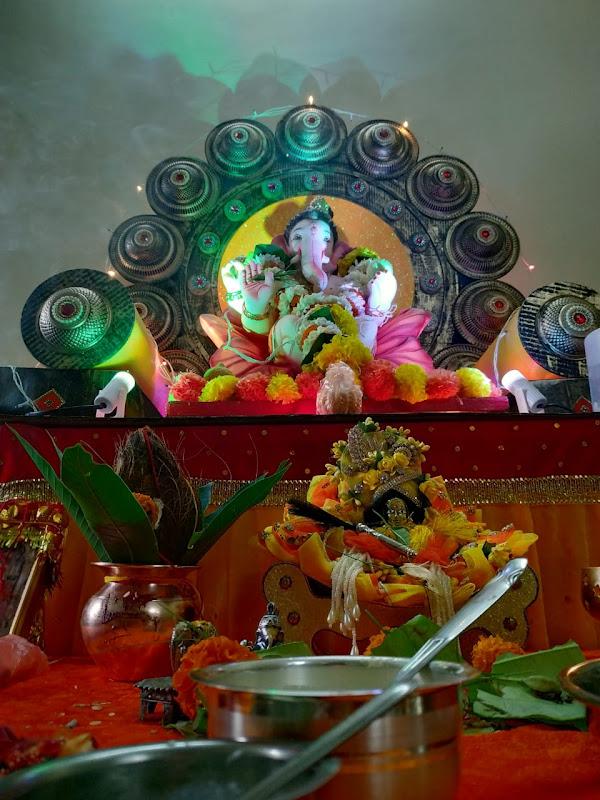 Ganesh Chaturthi Ganpati Bappa Decoration Mumbai