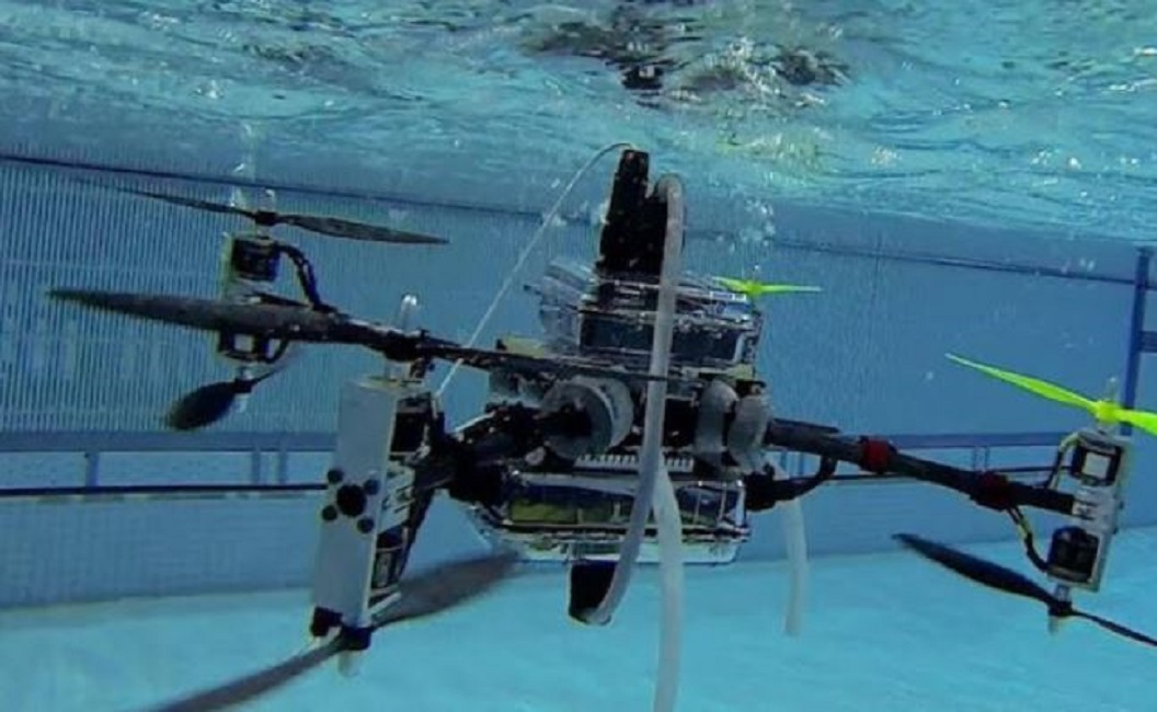 underwater drones are stationed in the Indian Ocean