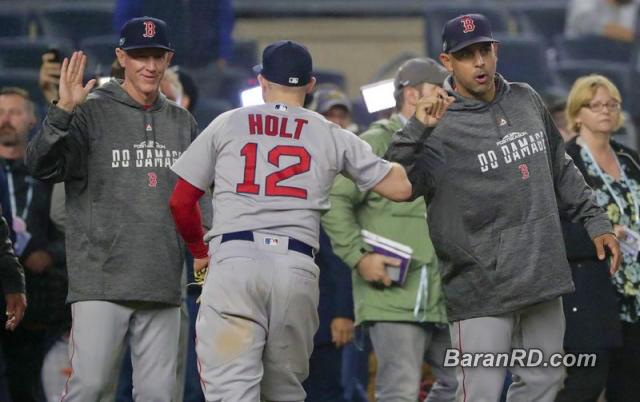 Medias Rojas aplastan 16-1 a los Yankees