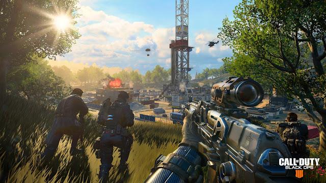 الإعلان عن المساحة التي ستتطلب لعبة Call of Duty: Black Ops 4 على جهاز بلايستيشن 4 ، صدمة أخرى !
