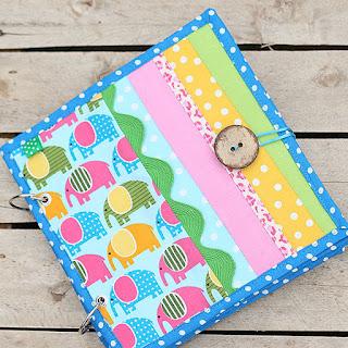 Fabric book, ספר בד רך