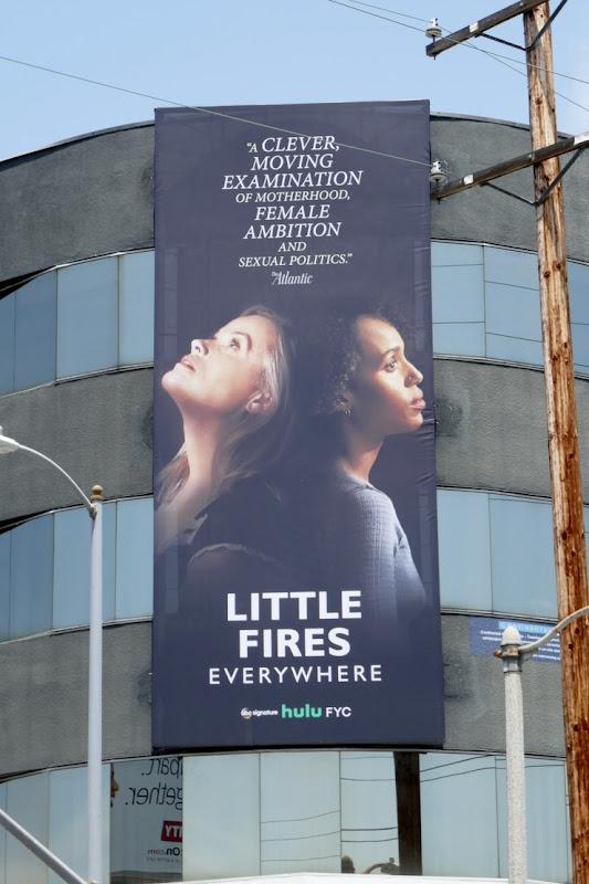 Little Fires Everywhere 2020 Emmy FYC billboard