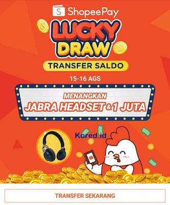 cara mendapatkan koin shopee dari lucky draw