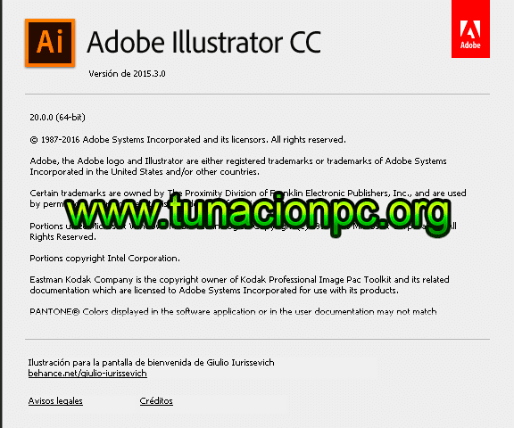 Adobe Illustrator CC 2015 para mac full español
