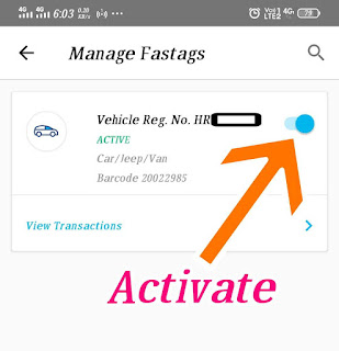HOW TO DEACTIVATE FASTAG ACCOUNT/PAYTM FASTAG DEACTIVATE
