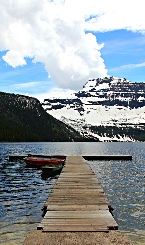 Cameron Lake Waterton Lakes Alberta