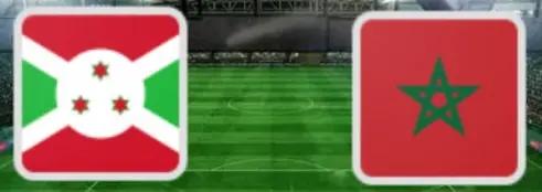 مواجهة المنتخب المغربي والمنتخب البوروندي ضمن مواجهاة التأهل لامم افريقيا 2021