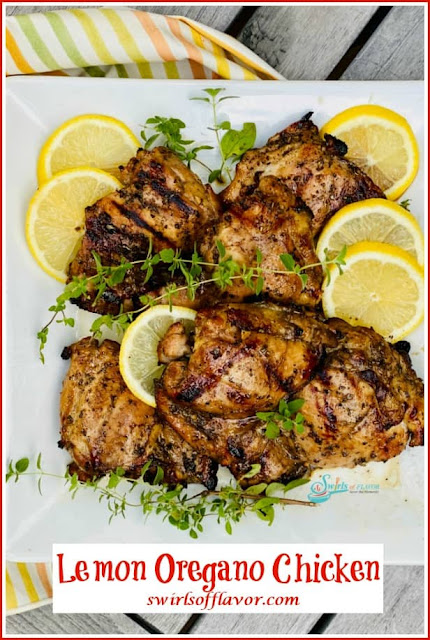 Grilled Lemon Balsamic Chicken
