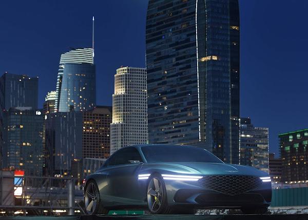 Hyundai apresenta Genesis X Concept - cupê esportivo elétrico