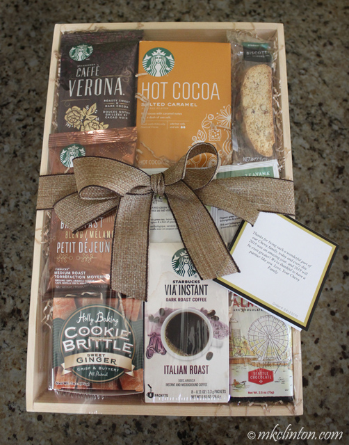 Starbucks gift box