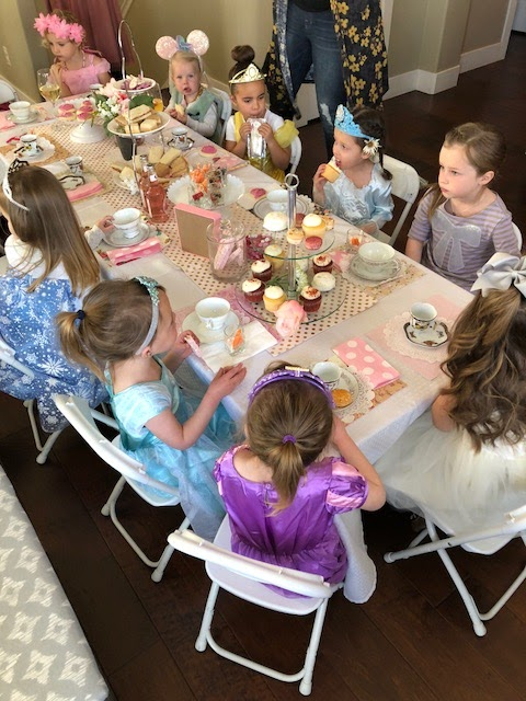 toddler princess tea party