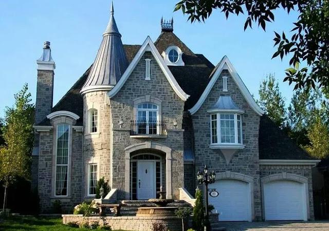 Chateau Style House