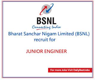 BSNL Job 2017