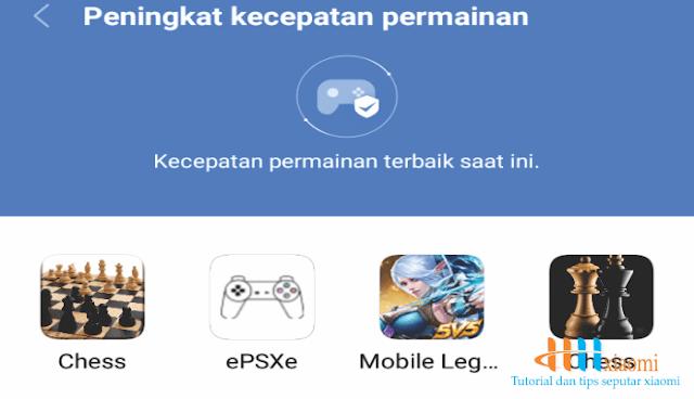 pilih game