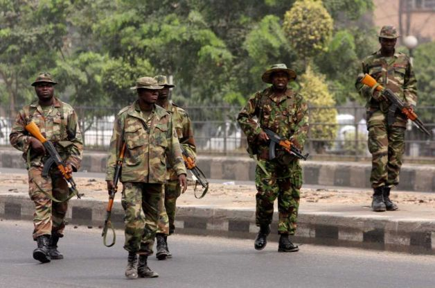 Drama As Nigerian Soldiers Arrest 'Phyno' For Kidnapping In Abia