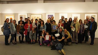 Ανοιχτό Εργαστήριο Χαρακτικής Ημερησία εκδρομή στο Μουσείο Χαρακτικής Τάκη Κατσουλίδη Μεσσήνη - Απριλίος 2016
