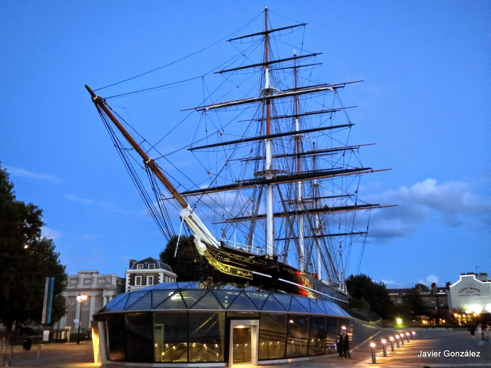 Greenwich. Cutty Sark