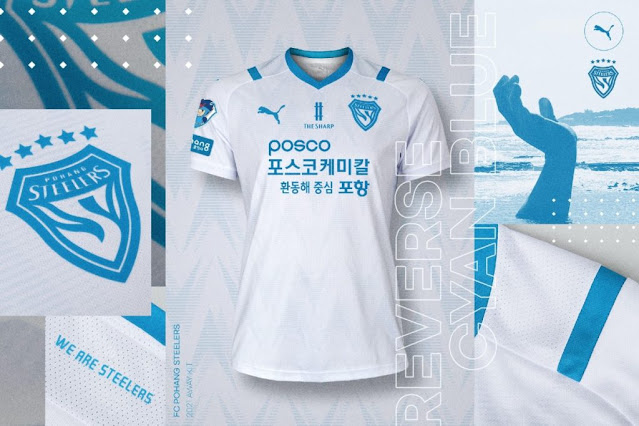 Pohang Steelers 2021 Kits