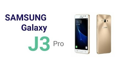Samsung Galaxy J3 Pro Specifications - LAUNCH Announced 2016, June DISPLAY Type Super AMOLED capacitive touchscreen, 16M colors Size 5.0 inches (~68.0% screen-to-body ratio) Resolution 720 x 1280 pixels (~294 ppi pixel density) Multitouch Yes BODY Dimensions 142.2 x 71.3 x 8 mm (5.60 x 2.81 x 0.31 in) Weight 139 g (4.90 oz) SIM Single SIM (Micro-SIM) or Dual SIM (Micro-SIM, dual stand-by) PLATFORM OS Android OS, v5.1 (Lollipop) CPU Quad-core 1.2 GHz MEMORY Card slot microSD, up to 256 GB (dedicated slot) Internal 16 GB, 2 GB RAM CAMERA Primary 8 MP, f/2.2, autofocus, LED flash Secondary 5 MP, f/2.2 Features Geo-tagging, touch focus, face detection, HDR Video 1080p@30fps NETWORK Technology GSM / CDMA / HSPA / EVDO / LTE 2G bands GSM 850 / 900 / 1800 / 1900 - SIM 1 & SIM 2 (dual-SIM model only)    CDMA 800 - J3119   3G bands HSDPA 850 / 900 / 1900 / 2100 - J3119  CDMA2000 1xEV-DO - J3119 4G bands LTE band 1(2100), 3(1800), 5(850), 7(2600), 8(900), 20(800)  LTE band 1(2100), 3(1800), 7(2600), 41(2500) - J3119 Speed HSPA 42.2/5.76 Mbps, LTE Cat4 150/50 Mbps GPRS Yes EDGE Yes COMMS WLAN Wi-Fi 802.11 b/g/n, Wi-Fi Direct, hotspot NFC Yes GPS Yes, with A-GPS, GLONASS/ BDS (region dependent) USB microUSB v2.0, USB On-The-Go Radio FM radio, RDS, recording Bluetooth v4.1, A2DP FEATURES Sensors Accelerometer, proximity Messaging SMS(threaded view), MMS, Email, Push Mail, IM Browser HTML5 Java No SOUND Alert types Vibration; MP3, WAV ringtones Loudspeaker Yes 3.5mm jack Yes BATTERY  Removable Li-Ion 2600 mAh battery Stand-by  Talk time  Music play  MISC Colors White, Black, Gold  - MP4/H.264 player - MP3/WAV/eAAC+/Flac player - Photo/video editor - Document viewer
