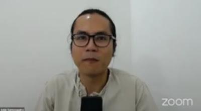 Adjie Santosaputra, praktisi  mindfulness