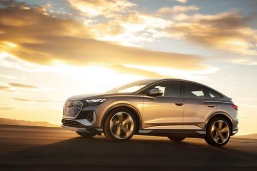 Audi launches the e-tron Q4 electric vehicle
