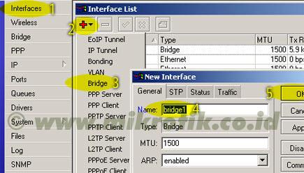 How to Setting Mikrotik Wireless Bridge