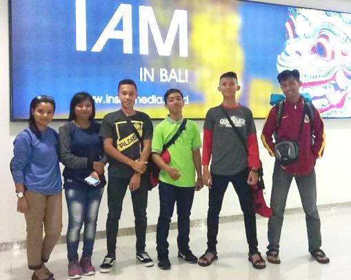 Karateka, Selayar, Bertarung ,Pada Kejuaraan IGNR Cup IX 2017, di, Bali