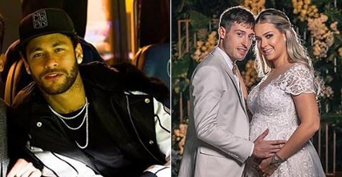 Neymar comemora casamento de ex na web: ''Que Deus cuide''