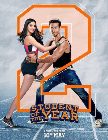 Student of the Year 2 (2019) Hindi 1080p HDRip x264 2.4GB ESubs Movie Download