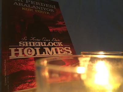 Kitap Yorumları, Arthur Conan Doyle, Sherlock Holmes, Sır perdesi aralanıyor, Kızıl dosya, A Study in Scarlet, Sakıp Murat Yalçın, Martı Kitapevi, Hikaye (Öykü), Polisiye, Edebiyat