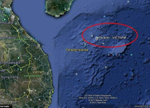 Google đã thay bản đồ, công nhận Hoàng Sa, Trường Sa là của Việt Nam