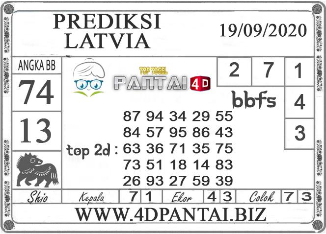 PREDIKSI TOGEL LATVIA PANTAI4D 19 SEPTEMBER 2020