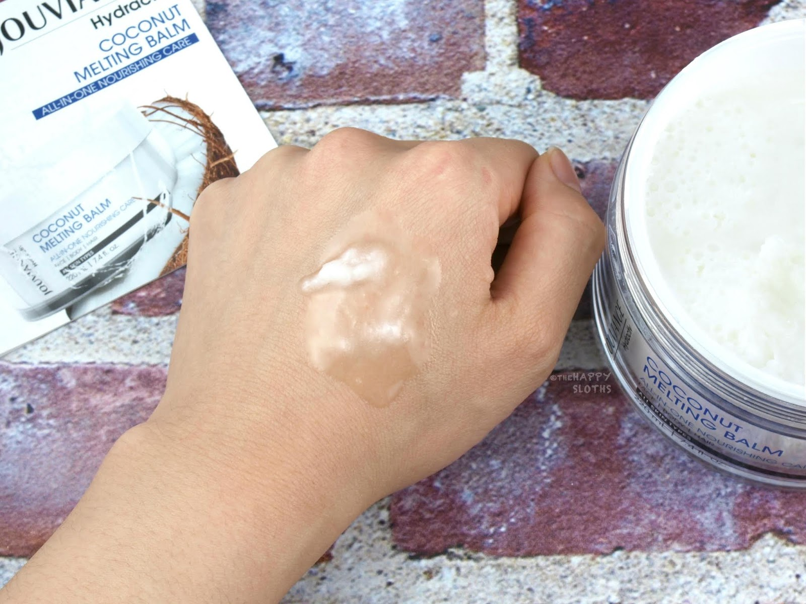 Jouviance | Hydractiv Coconut Melting Balm: Review