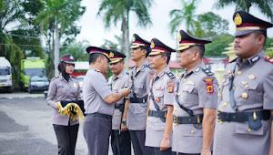 Tiga Pejabat Polres Tebo Mendapat Promosi Jabatan
