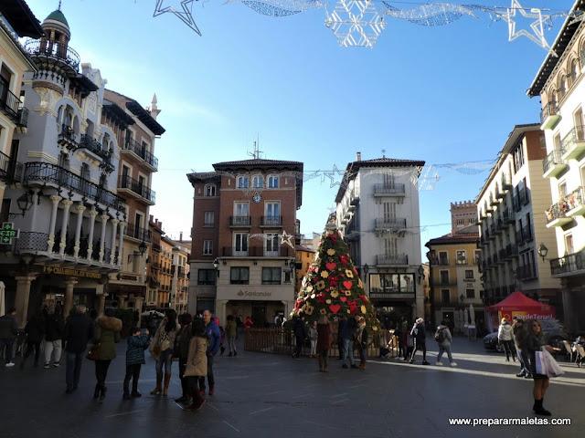 la plaza más bonita de Teruel