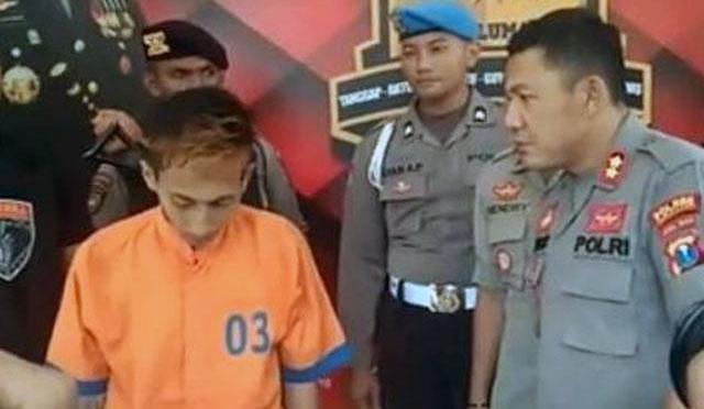 Pelaku Mochamad Riduwan Al Hakiki Jabbar Saimima