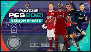 Download PES 2021 PPSSPP CV7 New Latest transfer (February) & New Straight Grass