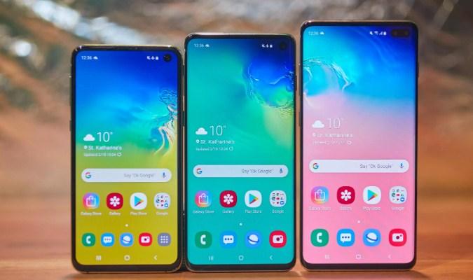 Samsung Galaxy S10e, Samsung Galaxy S10 dan Samsung Galaxy S10 Plus