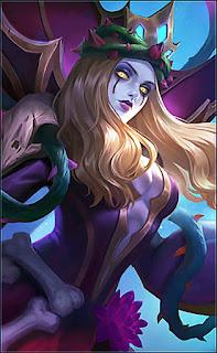 Vexana Sanguine Rose Heroes Mage of Skins V3
