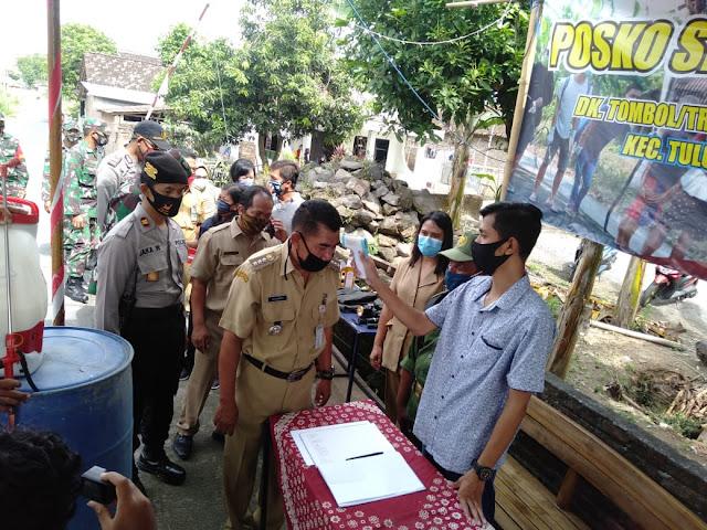 Muspika Tulung Canangkan Kampung Siaga Antisipasi Covid 19 di Desa Kiringan