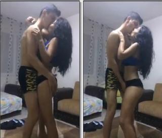 Liseli Kız Periscopede Sevgilisiyle Sevişiyor Bomba İfşa Video