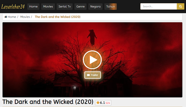 Nonton Film The Dark and the Wicked (2020) Sub Indo Full Movie | Link 2021