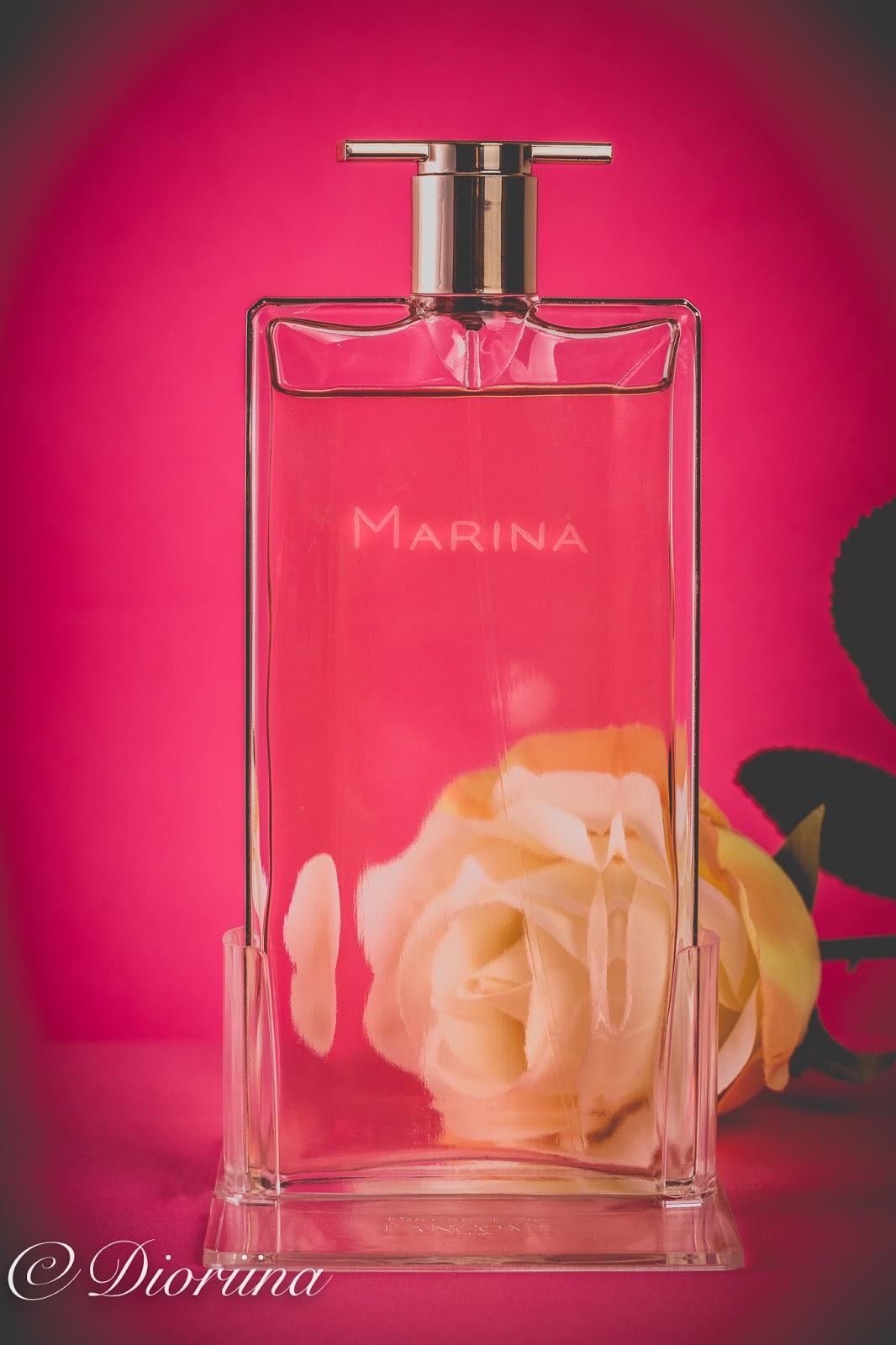 Lancomen Idole tuoksu on 3 naisen yhteistyönä syntynyt tuoksu.
